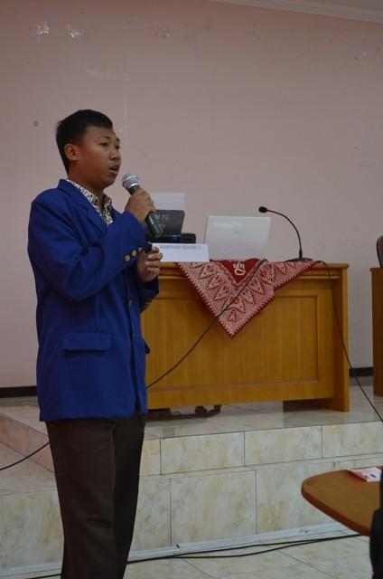 Ketua panitia SI KM FE UNY 2014